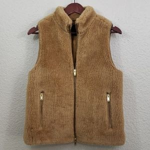 J.Crew Excursion Plush fleece vest size small